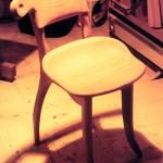Cadira Gaudi de roure