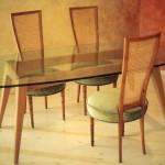 Taula i cadiras de faig 1